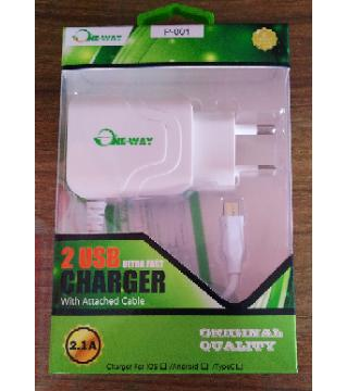 One Way Android smart Charger
