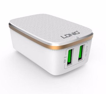 LDNIO 2 USB Port Travel Charger