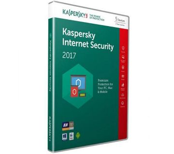 Kaspersky Internet Security 1 pc 2017