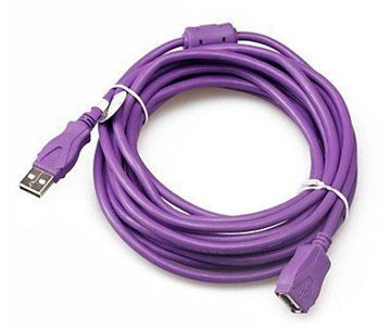 USB মেল টু ফিমেল এক্সটেন্ডেড ক্যাবল