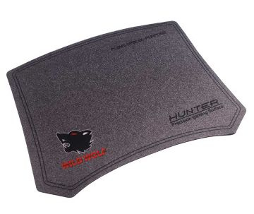 Micro wolf hunter gaming mouse pad