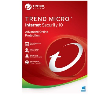 Trend Micro ইন্টারনেট সিকিউরিটি (১ ইউজার)