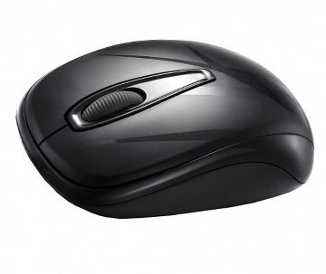 Delux DLM 107GX 10M Wireless Mouse Black
