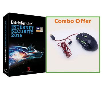 Gaming Mouse and bitdefender Combo