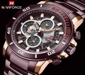 Naviforce Luxury Chronograph Men watch- 9174CE