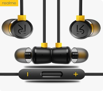 Realme Buds 2 Magnet in-Ear Wired Music Earphone with Mic-Black(COPY)