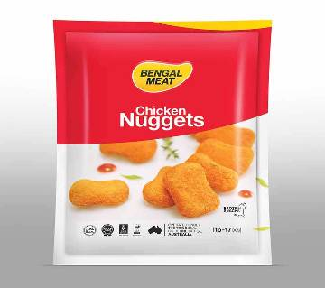 Bengal Meat Chicken Nugget - 250 gm (Protein Snacks - Ready To Cook)