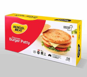 Bengal Meat Chicken Burger  - 360 gm (Protein Snacks - Ready To Cook)