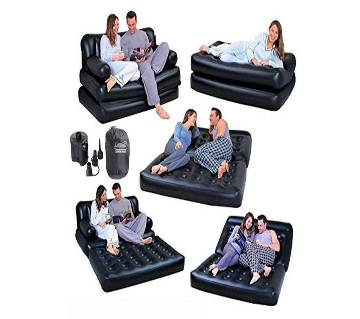 5 in 1 air sofa bed.with Pump free