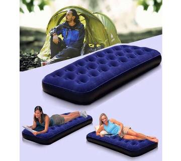 Single Air Bed With (free air pumps)