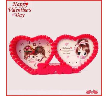 Sweet Love Alarm Clock & Photo Frame