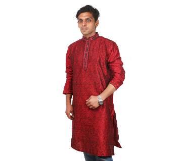 Indian Semi Long Gents Cotton Panjabi