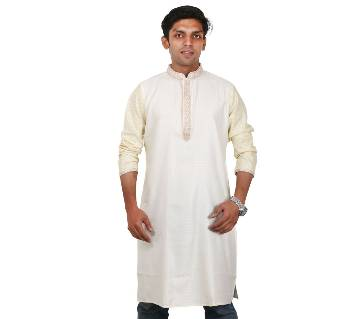 Indian Semi Long Gents Cotton Panjabi