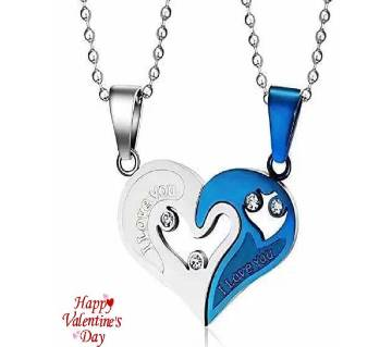 I Love You  couple pendent-02