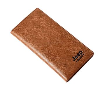 Jeep Long Wallet - Brown