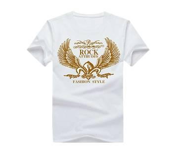 Half Sleeve Round Neck T Shirt For Men AF-127