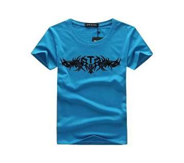Half Sleeve Round Neck T Shirt For Men AF-164