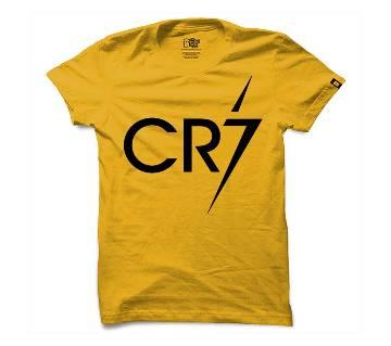 Half Sleeve Round Neck T Shirt For Men AF-325
