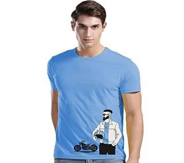 Half Sleeve Round Neck T Shirt For Men AF-310