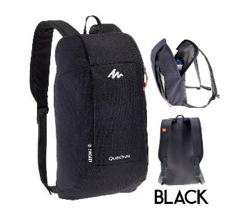 Quechua School and college bags-black