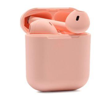 Inpods 12 TWS Wireless Earphone Headphones Bluetooth 5.0(Pink)