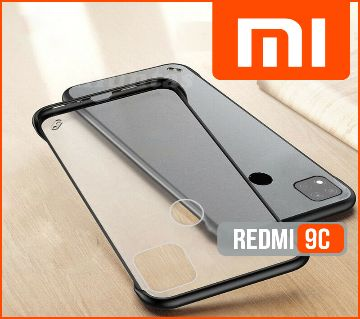 Xiaomi Redmi 9C Frameless Ultra Slim Matte Finished Back Cover