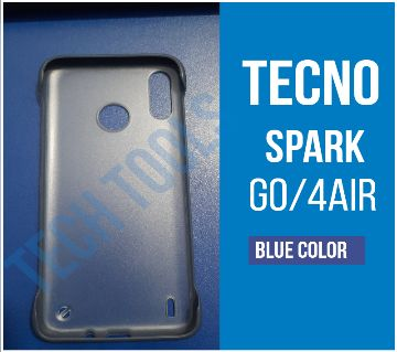 Tecno Spark 4 Air/Spark Go Transparent mobile back cover Slim Frameless Case