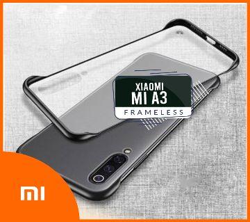 Frameless Case For Xioami Mi A3 Matte Transparent Back Cover