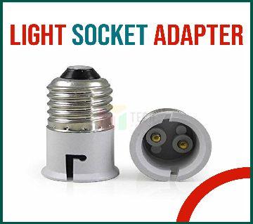 1 psc Bulb Base Socket (B22 To E27) Converter Adapter B22 to E27 Screw Base Socket Lamp Holder Light Bulb Converter Adapter