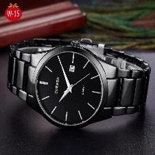 Curren Black watch for men
