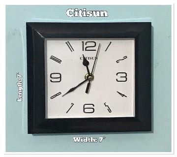 Citisun wall clock: 74335