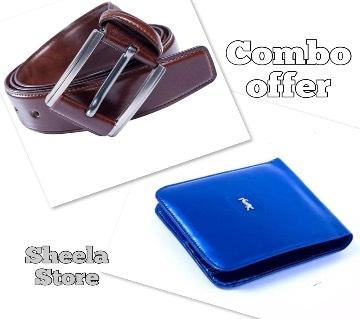 Belt & Wallet Combo Offer: 6432