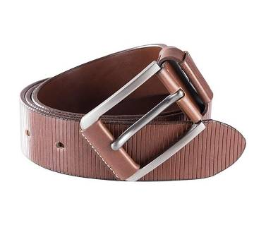 Chocolate colour belt for men