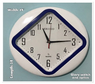 White Dial Wall clock: 75499