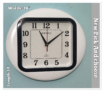 White Dial Wall clock: 75333