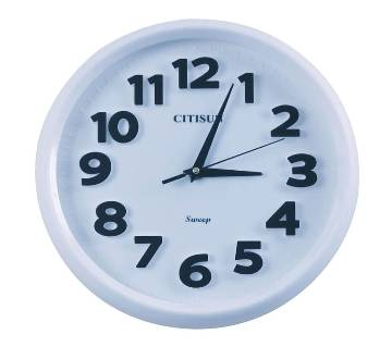 Citisun Wall clock: 52