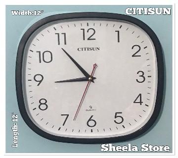 Citisun Wall clock: 57