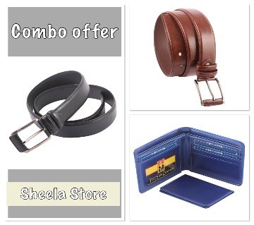 Belt & Wallet combo offer: 6544