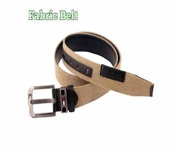 Brown Colour Fabric Belt for men: 6544