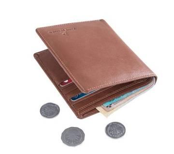 Genuine Leather Brown Wallet For Men