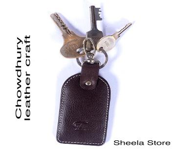 Genuine leather key holder
