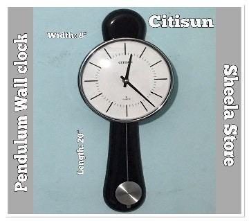Citisun Pendulum wall clock: 60p