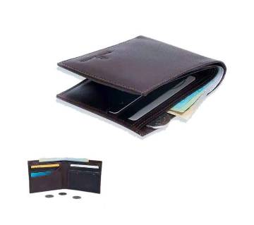 Chocolate Color Leather wallet for men