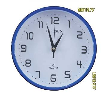 Citisun wall clock: 6544