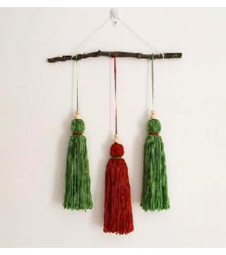 Two Colors Wall Hanging