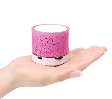 LED Light Mini Bluetooth Speaker - Red