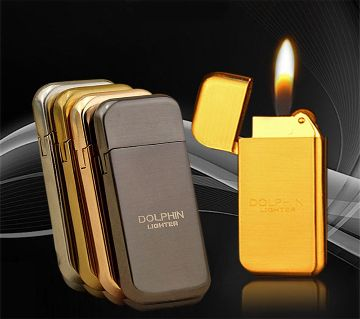 Dolphin Hy300 Windproof Refillable Butane Gas Lighter