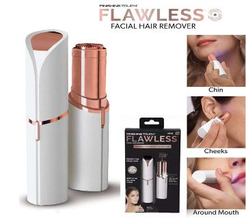 Finishing Touch Flawless  Facial Hair Remover for Women - Battery Operated