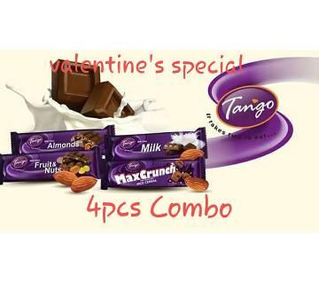 Tango Chocolate 4 pcs Valentine Combo Offer