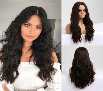 Black Women High Temperature Fiber matte Hair Wigs